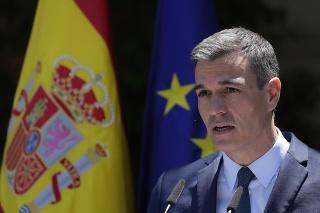 Španielsky premiér Pedro Sánchez