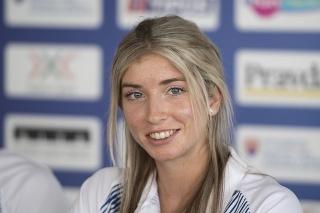 Slovenská atlétka - prekážkárka na 400m Emma Zapletalová