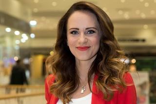 Moderátorka Lenka Vavrinčíková