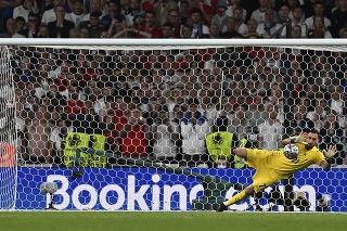 Taliansky brankár Gianluigi Donnarumma sa stal hrdinom finále Anglicko - Taliansko na EURO 2020 vo futbale na Wembley.