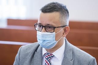 Na snímke svedok a prokurátor Úradu špeciálnej prokuratúry (ÚŠP) Tomáš Honz.