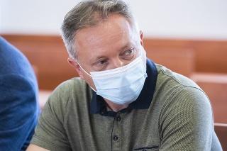 Na snímke svedok a prokurátor Úradu špeciálnej prokuratúry (ÚŠP) Bohdan Čeľovský.