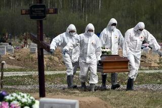 Rusko eviduje dohromady 145 278 úmrtí s covidom.