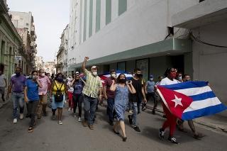 USA vyzvali Kubu, aby prestala s obmedzením internetu a prepustila demonštrantov. (ilustračné foto)