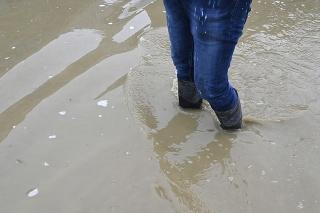 SVP eviduje zvýšený stupeň povodňovej aktivity na viacerých miestach (ilustračné foto)