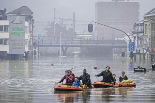 Katastrofa zasiahla aj Belgicko