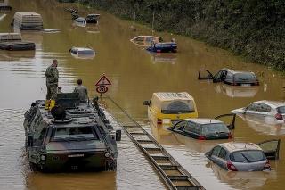 Počet obetí záplav v Nemecku a Belgicku sa opäť zvýšil.