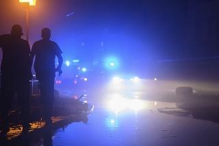 Zaplavená ulica v Bad Schandau.