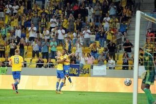 Futbalisti DAC Dunajská Streda vyhrali nad Nitrou 6:0.
