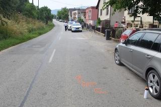 Opitý vodič zrazil v Hornej Súči cyklistu, z miesta nehody ušiel.