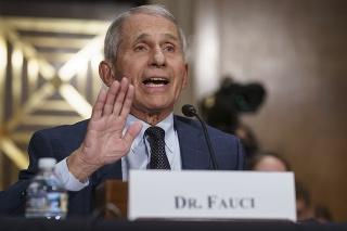 Hlavný zdravotnícky poradca Bieleho domu Anthony Fauci.