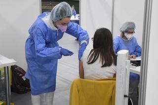 V Prešove tento víkend pokračuje očkovanie proti COVID-19 (archívne foto).
