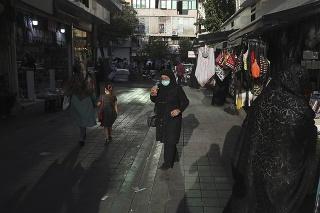 Ulica v Teheráne.