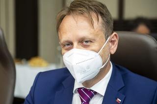 Minister pôdohospodárstva a rozvoja vidieka SR Samuel Vlčan