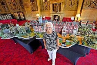 Dielo Margaret Seaman (92) teraz vystavujú v skutočnom Sandringhame.
