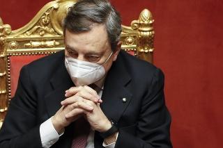 Taliansky predseda vlády Mario Draghi.