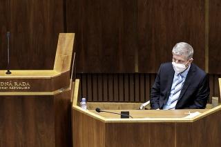 Na snímke minister zdravotníctva Vladimír Lengvarský.