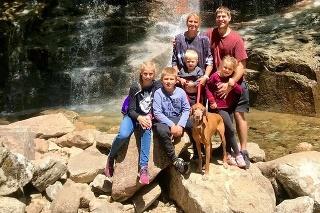 Šťastná rodina.
