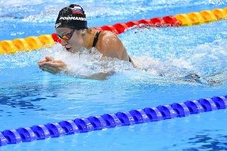 Slovenská plavkyňa Andrea Podmaníková na OH v Tokiu