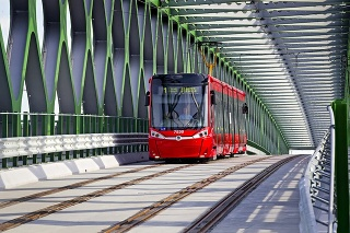 Vizualizácia druhej etapy električkovej trate v Petržalke.