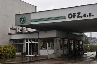 Na snímke závod OFZ Istebné v Oravskom Podzámku