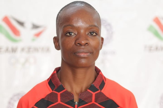 Christine Ongareová, boxerka z Kene, ktorá sa predstavila na OH v Tokiu