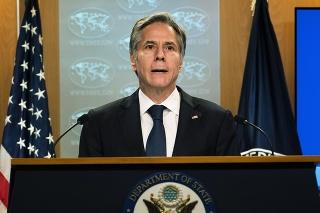 Americký minister zahraničných vecí Antony Blinken.