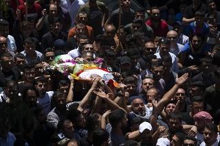 Pohreb palestínskeho