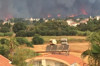 Požiare v