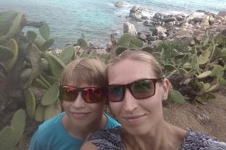 Nemali sme ľahký priebeh covidu - Marta (35) so synom Radkom (12), Kalinkovo (okr. Senec)