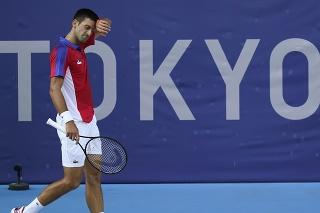 Srbskému tenistovi prekvapivo prvenstvo nepatrí.