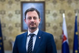 Predseda vlády Eduard Heger