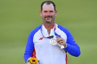 Sabbatini sa po prevzatí medaily usmieval, ale v očiach sa mu leskli slzy.
