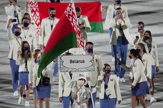 Bieloruská bežkyňa