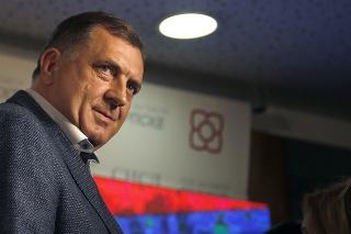 Srbský člen prezídia Bosny a Hercegoviny Milorad Dodik.