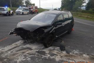 Nehoda pri