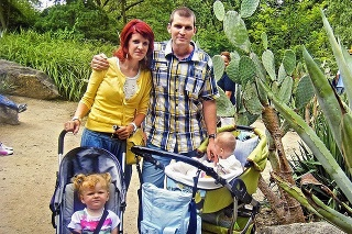 Takýto šťastný bol Ivan spolu s manželkou a deťmi.