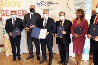 Založenie Inovačného centra Košického kraja a Košického klastra nového priemyslu.