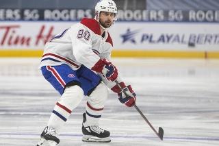 Slovenský útočník Tomáš Tatar (30) v drese Montrealu Canadiens