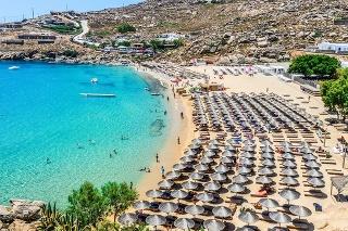 Famous Paradise Beach - Mykonos, Greece