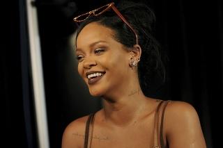 Speváčka Rihanna