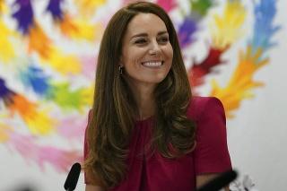 Vojvodkyňa Kate na stretnutí s prvou dámou USA Jill Biden.