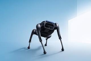 Technicky vyspelý CyberDog: Robot dokáže spraviť aj salto vzad.