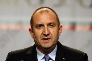 Bulharský prezident Rumen Radev.