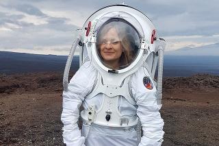 Michaela Musilová organizuje a vedie na Havaji simulované vesmírne misie.