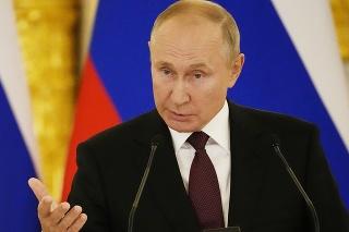 Šéf Kremľa Vladimir Putin