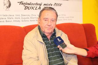 Legendárny obranca Jan Suchý.