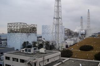 Poškodená elektráreň Fukušima-1.