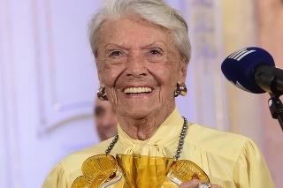 Vo veku 95 rokov zomrela herečka Zdenka Procházková.
