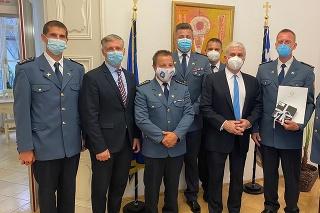 Grécky veľvyslanec poďakoval hasičom zasahujúcim v Grécku